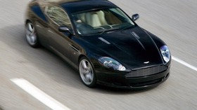 aston martin, db9, 2006, black, top view, style, auto, aston martin, sports, speed, asphalt - wallpapers, picture