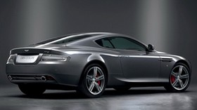 aston martin, db9, 2008, metallic gray, side view, style, sport, aston martin, auto - wallpapers, picture
