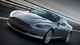 aston martin, db9, 2008, gray, front view, style, sport, aston martin, auto, speed, asphalt - wallpapers, picture