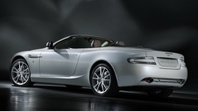 aston martin, db9, 2010, white, side view, style, aston martin, auto, reflection - wallpapers, picture