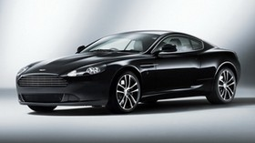 aston martin, db9, 2010, black, side view, style, car - wallpapers, picture