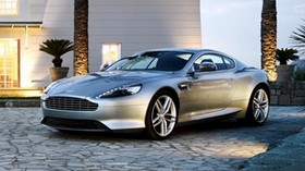 aston martin db9, aston martin, silver - wallpapers, picture
