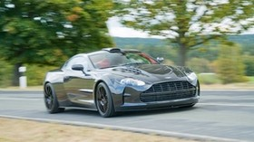 aston martin, db9, speed, motion, blur - wallpapers, picture