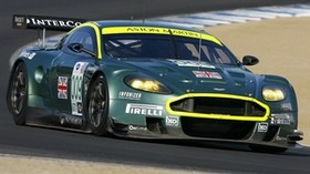 aston martin, dbr9, 2007, green, front view, style, aston martin, sports, car, racing car, asphalt - wallpapers, picture