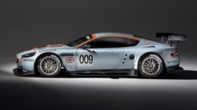 aston martin, dbr9, 2008, white, side view, style, sport, aston martin, auto - wallpapers, picture