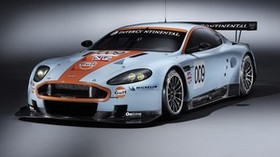 aston martin, dbr9, 2008, white, front view, style, aston martin, auto, sports - wallpapers, picture