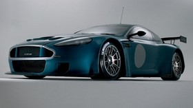 aston martin, dbrs9, 2005, blue, front view, style, auto - wallpapers, picture
