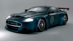 aston martin, dbrs9, 2005, green, front view, style, aston martin, auto, sports - wallpapers, picture