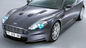 aston martin, dbs, 2006, gray, front view, car, aston martin - wallpapers, picture