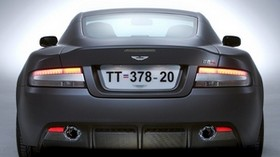 aston martin, dbs, 2006, gray, rear view, style, aston martin, auto - wallpapers, picture