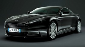 aston martin, dbs, 2008, black, front view, style, car - wallpapers, picture