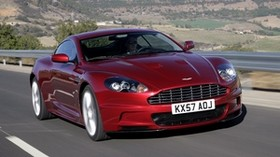 aston martin, dbs, 2008, red, front view, sport, aston martin, nature - wallpapers, picture