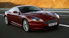 aston martin, dbs, 2008, red, front view, style, aston martin, auto - wallpapers, picture