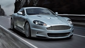 aston martin, dbs, 2008, metallic gray, front view, sports, aston martin, auto, rocks, speed - wallpapers, picture
