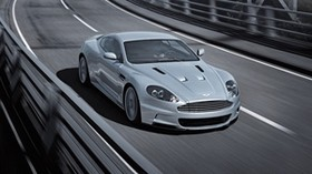 aston martin, dbs, 2008, gray, front view, auto, aston martin, bridge - wallpapers, picture