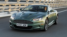 aston martin, dbs, 2008, green, front view, auto, aston martin, speed - wallpapers, picture