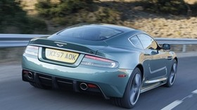 aston martin, dbs, 2008, green, rear view, auto, aston martin, speed - wallpapers, picture