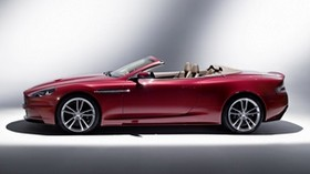 aston martin, dbs, 2009, red, side view, style, aston martin, auto - wallpapers, picture