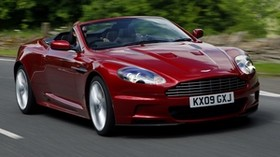 aston martin, dbs, 2009, red, front view, auto, speed, aston martin, asphalt - wallpapers, picture