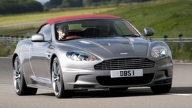 aston martin, dbs, 2009, metallic gray, front view, auto, aston martin, nature - wallpapers, picture