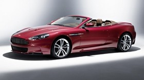 aston martin, dbs, 2009, dark scarlet, side view, style, aston martin, car - wallpapers, picture