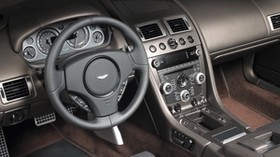 aston martin, dbs, 2010, salon, interior, steering wheel, speedometer - wallpapers, picture