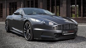 aston martin, dbs, 2010, metallic gray, front view, aston martin, auto, building - wallpapers, picture