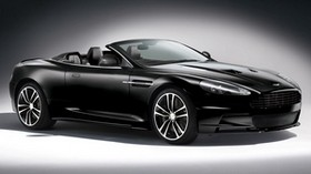 aston martin, dbs, 2011, black, side view, aston martin, car - wallpapers, picture