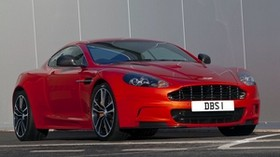 aston martin, dbs, 2011, red, front view, sports, aston martin - wallpapers, picture