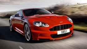 aston martin, dbs, 2011, red, front view, style, aston martin, auto, nature - wallpapers, picture