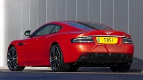 aston martin, dbs, 2011, red, rear view, aston martin, car - wallpapers, picture