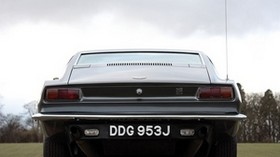 aston martin, dbs, v8, 1969, gray, rear view, auto, aston martin, trees - wallpapers, picture