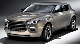 aston martin, lagonda, 2009, metallic gray, front view, concept car, style, aston martin, auto - wallpapers, picture