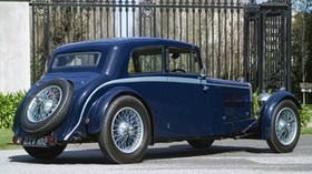 aston martin, mkii, 1934, blue, side view, rarity, aston martin, auto - wallpapers, picture