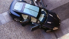 aston martin, rapide, 2006, concept car, blue, top view, aston martin, car - wallpapers, picture