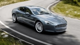 aston martin, rapide, 2009, gray, side view, aston martin, speed - wallpapers, picture
