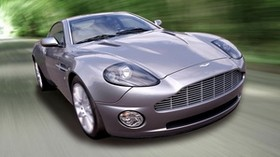 aston martin, v12, vanquish, 2001, purple, front view, auto, aston martin, speed - wallpapers, picture