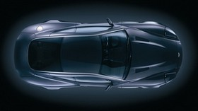 aston martin, v12, vanquish, 2004, black, front view, style - wallpapers, picture