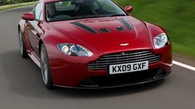 aston martin, v12, zagato, 2012, red, front view, aston martin, auto, style, speed, nature - wallpapers, picture