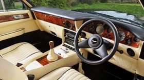 aston martin, v8, vantage, 1977, salon, interior, steering wheel, speedometer - wallpapers, picture