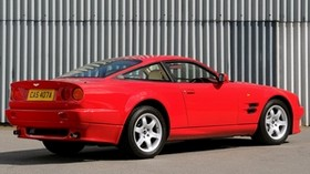 aston martin, v8, vantage, 1993, red, side view, style, aston martin, auto - wallpapers, picture