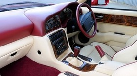 aston martin, v8, vantage, 1993, salon, interior, steering wheel - wallpapers, picture