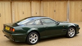 aston martin, v8, vantage, 1993, green, side view, auto, aston martin - wallpapers, picture