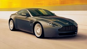 aston martin, v8, vantage, 2005, black, side view, style, aston martin, speed - wallpapers, picture