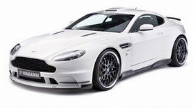 aston martin, v8, vantage, 2008, white, front view, auto, aston martin, sports - wallpapers, picture