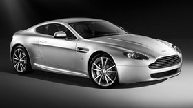 aston martin, v8, vantage, 2008, silver, side view, aston martin, style - wallpapers, picture