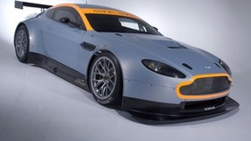 aston martin, v8, vantage, 2008, gray, side view, style - wallpapers, picture