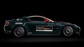 aston martin, v8, vantage, 2009, green, side view, sport, aston martin, style - wallpapers, picture