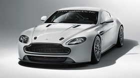 aston martin, v8, vantage, 2010, white, front view, style, aston martin, auto - wallpapers, picture