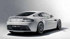 aston martin, v8, vantage, 2010, white, rear view, auto, aston martin, style - wallpapers, picture